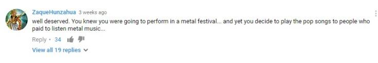 Linkin Park comments