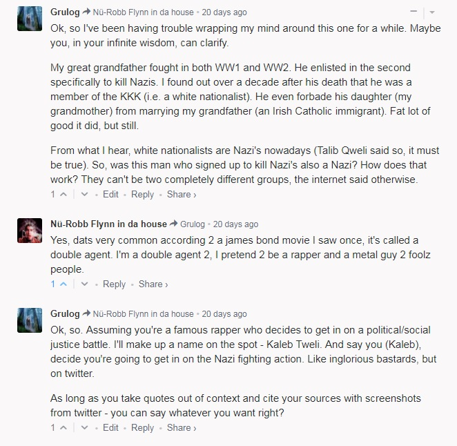The Bloggers Who Cried Nazi – metal stuff